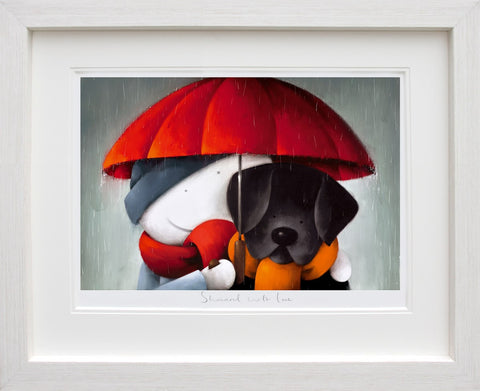 Doug Hyde, Showered With Love, Framed
