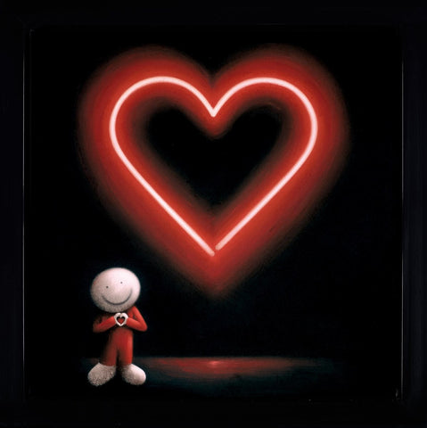 Doug Hyde, The Message of Love, Framed