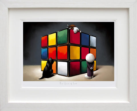 Doug Hyde, The Faces of Love, Framed
