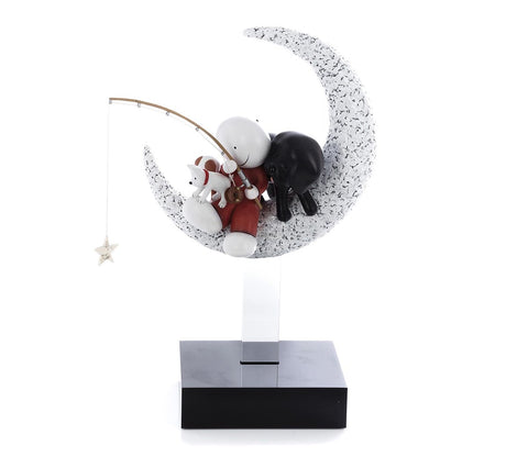 Doug Hyde, Catch a Falling Star, Sculpture