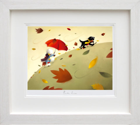 Doug Hyde, Park Run, Framed