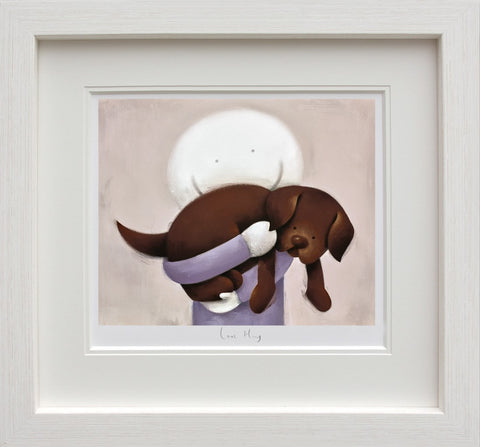 Doug Hyde, Love Hug, Framed