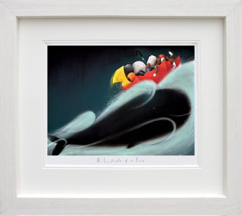 Doug Hyde, A Whale of a Time, Framed