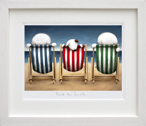 Doug Hyde, Beside the Seaside, Framed
