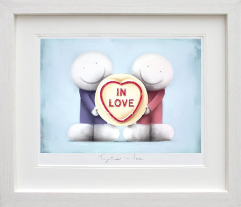 Doug Hyde, Together in Love, Framed