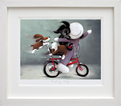 Doug Hyde, Riding High, Framed