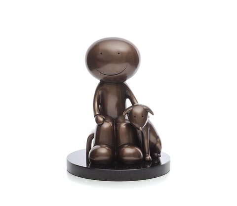 Doug Hyde, The Great Outdoors, Small Bronze Sculpture