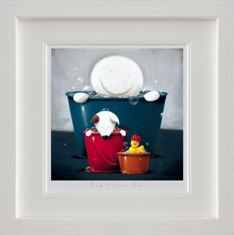 Doug Hyde, Rub A Dub Dub, Framed