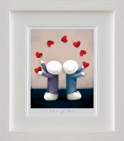 Doug Hyde, We've Got This, Framed