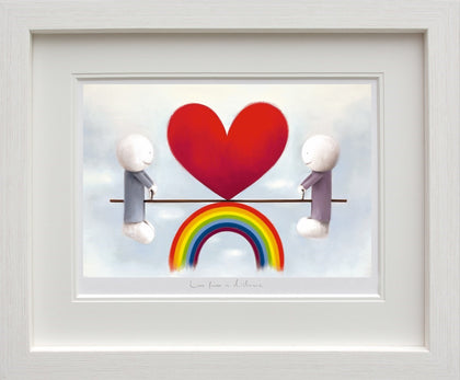 Doug Hyde, Love From A Distance, Framed