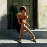 Fabian Perez, Waiting for the Romance to Come Back - Lucy