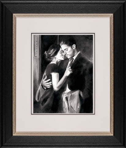 Fabian Perez, The Train Station V, Framed