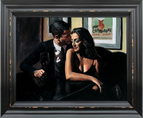 Fabian Perez, Proposal at Hotel Du Vin, Framed