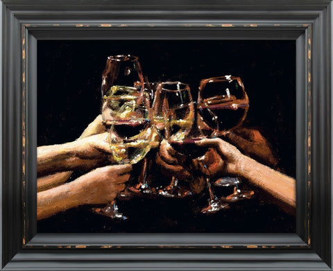 Fabian Perez, For a Better Life IX, Framed