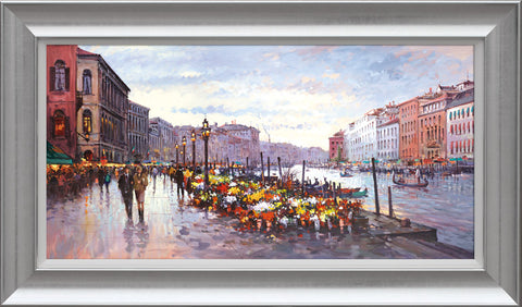 Henderson Cisz, Afternoon in Venice, Framed
