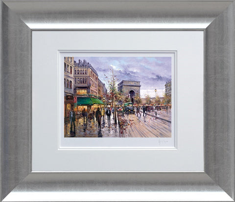 Henderson Cisz, Postcard from Paris, Framed