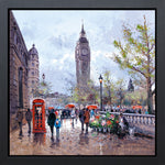 Henderson Cisz, Memories Of London, Framed