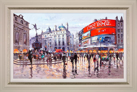 Henderson Cisz, Love Affair with London, Framed