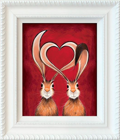 Jennifer Hogwood, Take Hare of My Heart, Framed