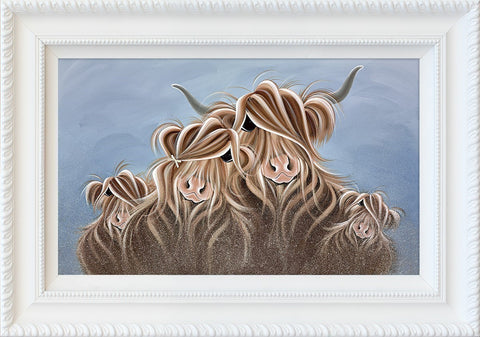 Jennifer Hogwood, My Herd, Framed