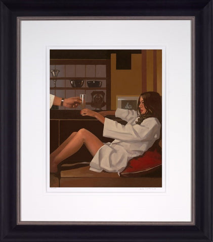 Jack Vettriano, Man of Mystery, Framed