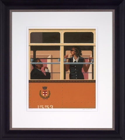 Jack Vettriano, The Look of Love, Framed