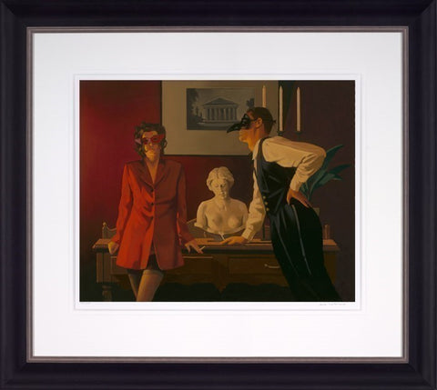 Jack Vettriano, The Sparrow and the Hawk, Framed