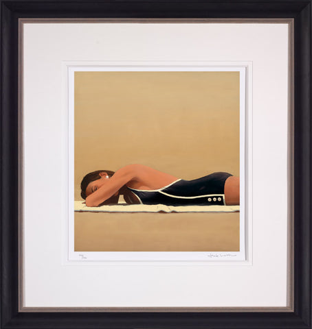 Jack Vettriano, Scorched, Framed