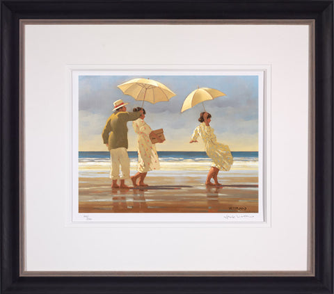 Jack Vettriano, The Picnic Party, Framed