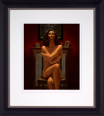 Jack Vettriano, Just The Way It Is, Framed