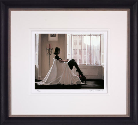 Jack Vettriano, In Thoughts of You, Framed