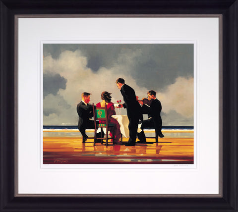 Jack Vettriano, Elegy for the Dead Admiral, Framed