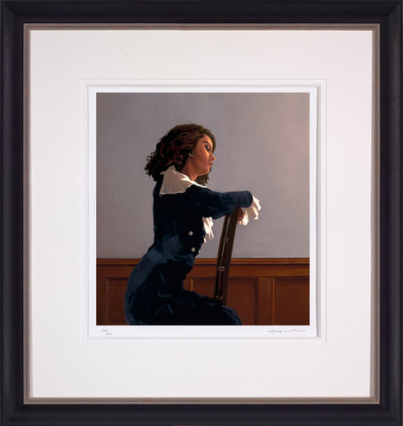 Jack Vettriano, Afternoon Reverie, Framed