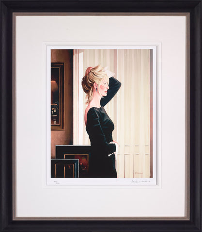 Jack Vettriano, Black on Blonde, Framed