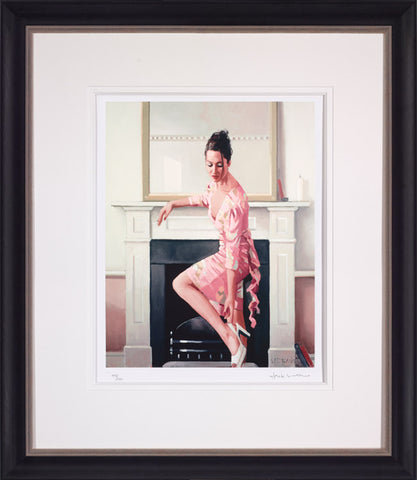 Jack Vettriano, Model in Westwood, Framed