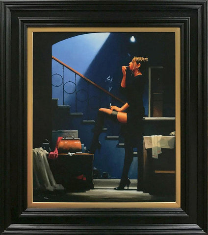Jack Vettriano, Dancer For Money, Framed