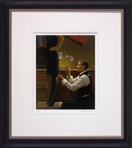 Jack Vettriano, The Devoted Dressmaker, Framed