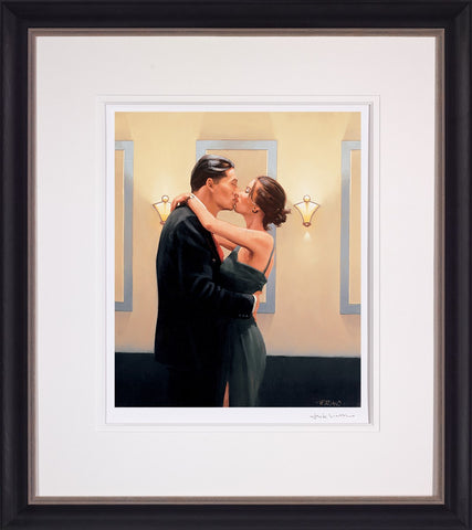 Jack Vettriano, Betrayal - First Kiss, Framed