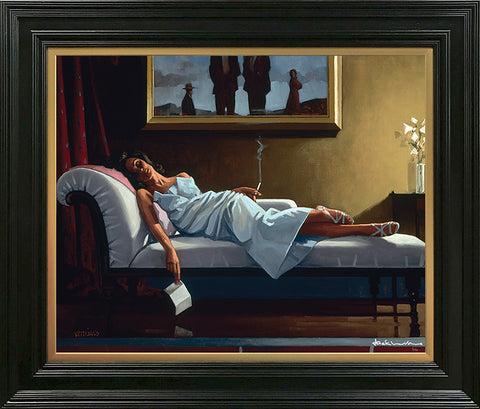 Jack Vettriano, The Letter, Framed