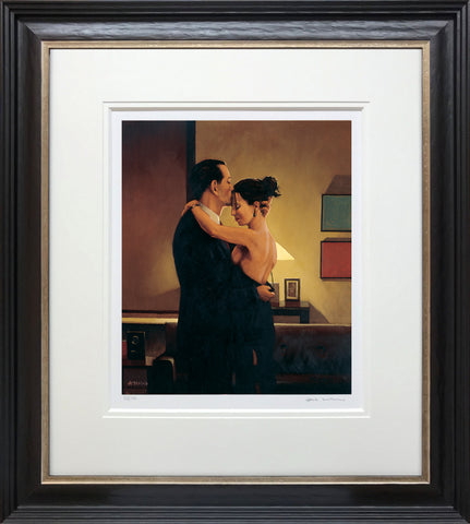 Jack Vettriano, Betrayal - No Turning Back, Framed