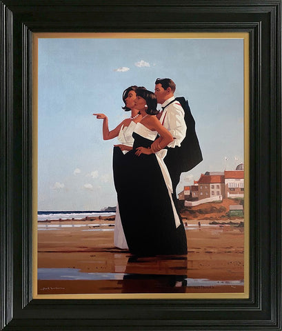 Jack Vettriano, The Missing Man II, Framed