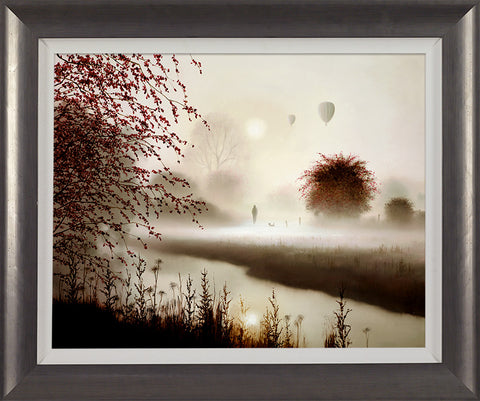John Waterhouse, Taking Flight, Framed