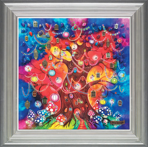 Kerry Darlington, A Tree of Light, Framed