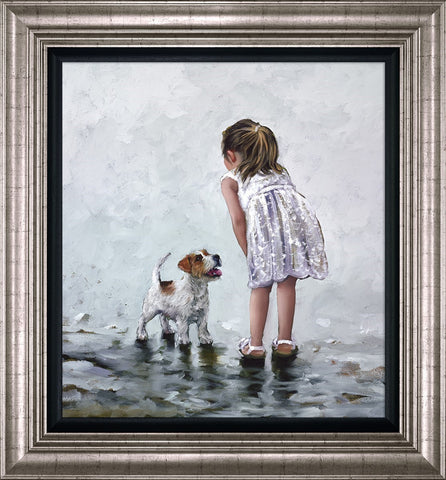 Keith Proctor, Puppy Love, Framed
