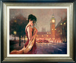 Mark Spain, London Nights, Framed