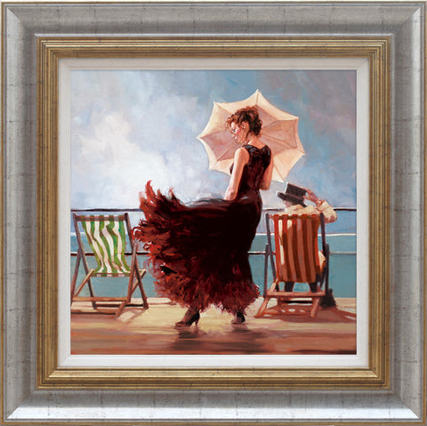 Mark Spain, Dancing on the Deck, Framed