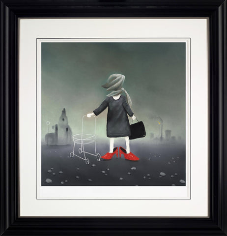 Mackenzie Thorpe, Sunday Best, Framed