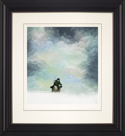Mackenzie Thorpe, Morning Snow, Framed