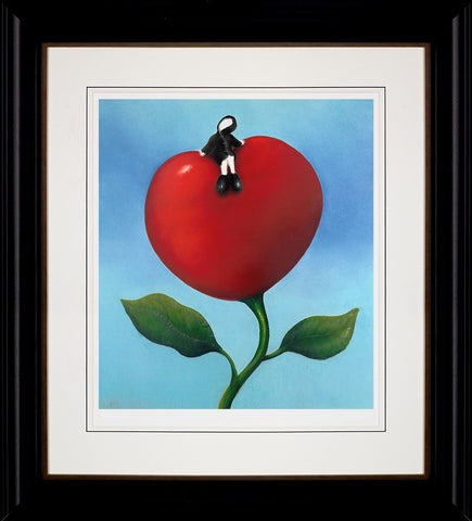 Mackenzie Thorpe, Love and Life, Framed