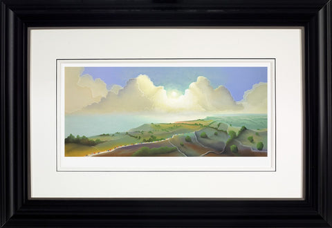 Mackenzie Thorpe, Yorkshire Coast, Framed